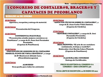 HOY SE CELEBRA EL I CONGRESO DE COSTALEROS