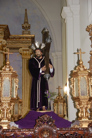"""JESUS NAZARENO YA ESTÁ EN SU """"PASO"""""""