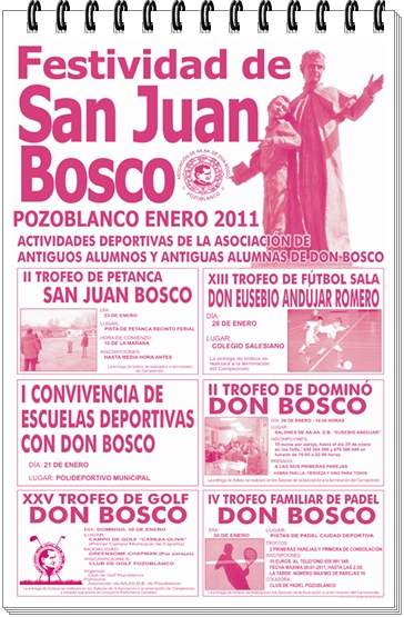 ACTOS EN HONOR A SAN JUAN BOSCO