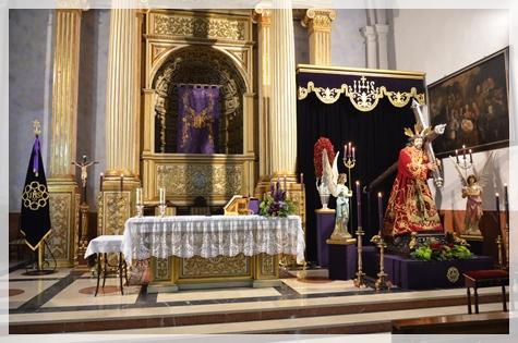 EL TRIDUO A JESÚS NAZARENO SERÁ EN LA PARROQUIA DE SANTA CATALINA