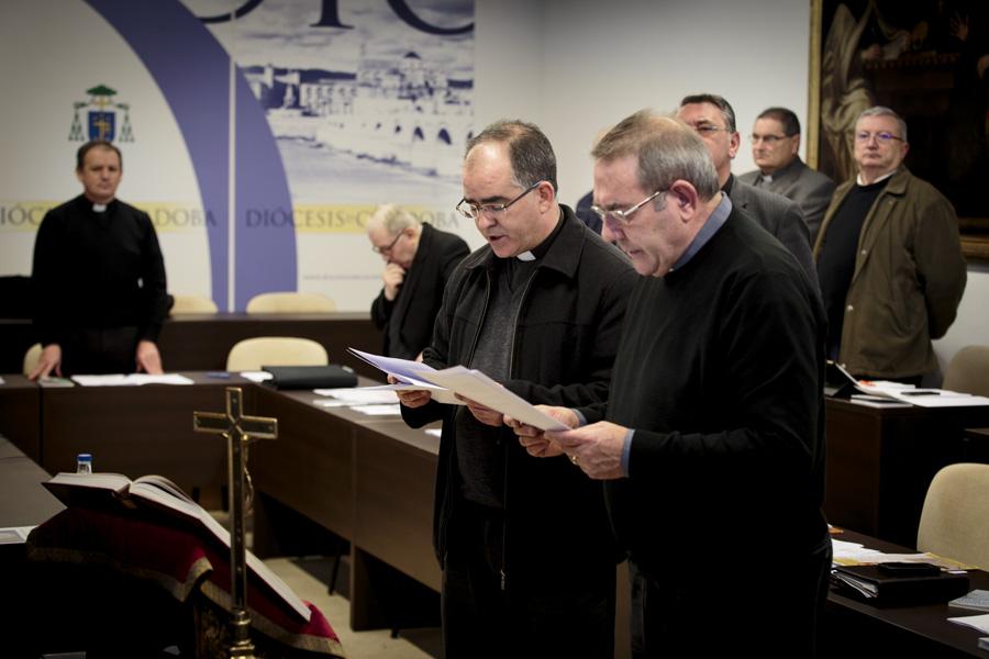 NUESTRO CONSILIARIO, D. JOSÉ MARÍA GONZÁLEZ RUIZ, TOMA POSESIÓN DE SU CARGO COMO ARCIPRESTE DE POZOBLANCO-VILLANUEVA