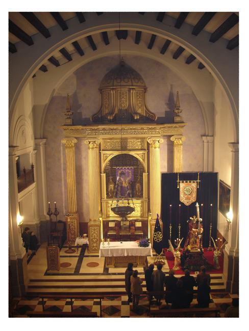 LA MISA DEL SÁBADO EN LA CAPILLA DE JESÚS CAMBIA DE HORARIO