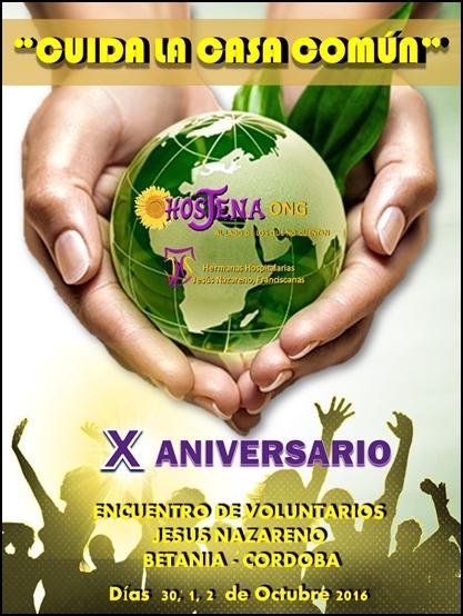Cartel X encuentro Voluntarios
