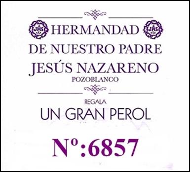 HOY SE ENTREGA EL PREMIO DEL PEROL