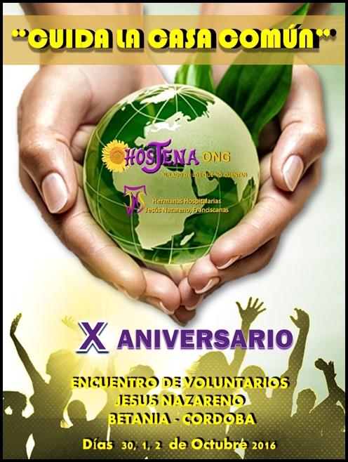 X ENCUENTRO VOLUNTARIADO HOSJENA