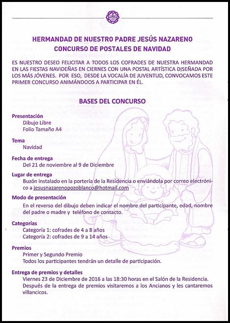 BASES CONCURSO POSTALES DE NAVIDAD