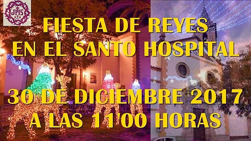 FIESTA DE REYES EN EL SANTO HOSPITAL