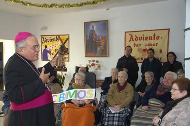 EL SR. OBISPO VISITÓ EL SANTO HOSPITAL