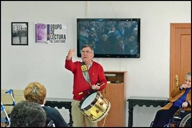 "GRUPO DE LECTURA ""MANOLO SANTOMÉ"" (31 de enero)"