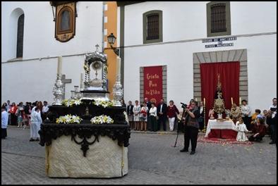 JESÚS SACRAMENTADO RECORRIÓ LAS CALLES DE POZOBLANCO
