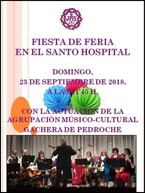 FIESTA DE FERIA EN EL SANTO HOSPITAL