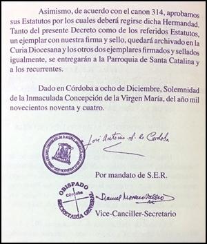 24 ANIVERSARIO DE LA APROBACIÓN DE NUESTRAS ACTUALES CONSTITUCIONES