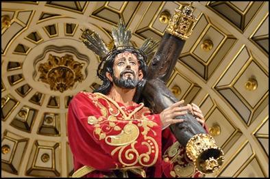 JESÚS NAZARENO VUELVE A SU CAMARÍN