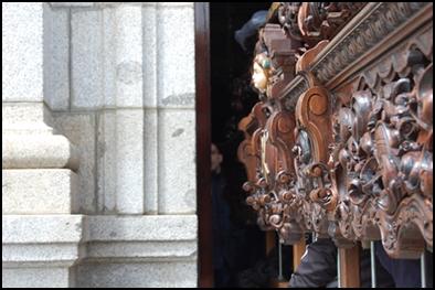 LOS COSTALEROS DE NUESTRA HERMANDAD HICIERON LA «MUDÁ»