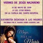 VIERNES DE JESÚS NAZARENO DEDICADO A LAS MADRES