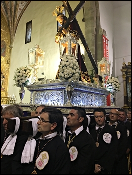 NUESTRA HERMANDAD PARTICIPÓ EN LA PROCESIÓN EXTRAORDINARIA DE JESÚS NAZARENO DE CABEZA DEL BUEY