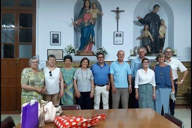 DESPEDIDA DE LA HERMANDAD A D. TEODORO CASTILLEJO, SDB