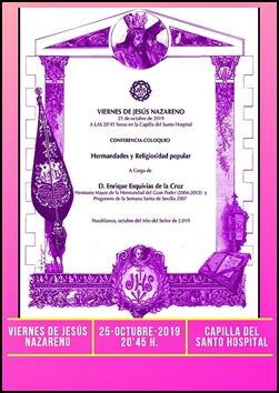 VIERNES DE JESÚS DE OCTUBRE CON D. ENRIQUE ESQUIVIAS