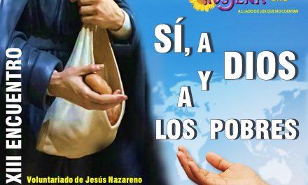 CELEBRADO EL XIII ENCUENTRO DEL VOLUNTARIADO DE JESÚS NAZARENO