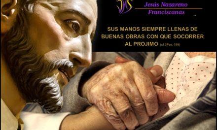 HOY SE CUMPLE EL 347 ANIVERSARIO DE LA FUNDACIÓN DE LA HOSPITALIDAD DE JESÚS NAZARENO