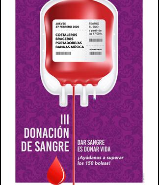 III DONACIÓN DE SANGRE ORGANIZADA POR LA AGRUPACIÓN DE COFRADÍAS