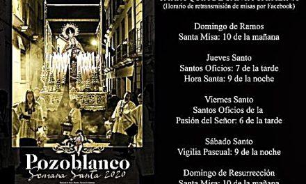 RETRANSMISIONES DE LOS CULTOS DE SEMANA SANTA DESDE SANTA CATALINA