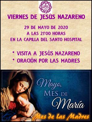 VUELVEN LOS VIERNES DE JESÚS NAZARENO