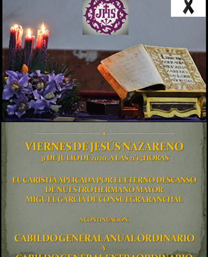 VIERNES DE JESÚS PARA LA HISTORIA (I)