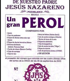 ÚLTIMOS DÍAS PARA ADQUIRIR PAPELETAS DE LA RIFA DEL PEROL