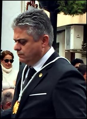 FULGENCIO RANCHAL OPTARÁ A LA REELECIÓN COMO PRESIDENTE DE LA COFRADÍA DEL CRISTO DE MEDINACELI