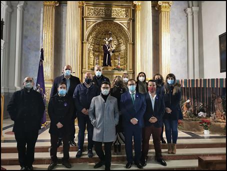 TOMA DE POSESIÓN DE LA NUEVA JUNTA DE LA COFRADÍA DE SOLDADOS DE ROMANOS Y PENITENTES