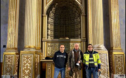CRÓNICA DE LAS OBRAS EN LA CAPILLA DE JESÚS NAZARENO (IV)