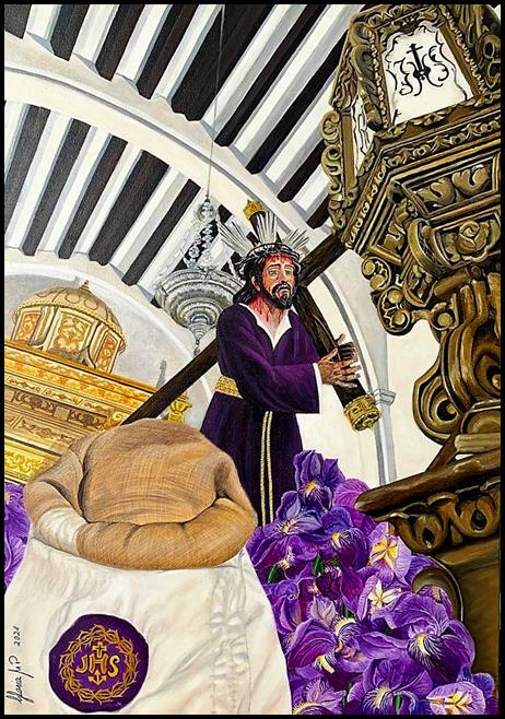 Gloria Madrid Plaza - óleo sobre lienzo