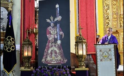 CUMPLIDO EL PRIMER DÍA DE TRIDUO A JESÚS NAZARENO