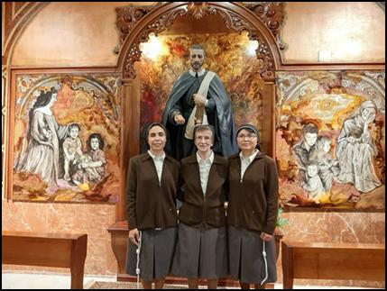 DÍA FELIZ PARA LA CONGREGACIÓN HOSPITALARIA