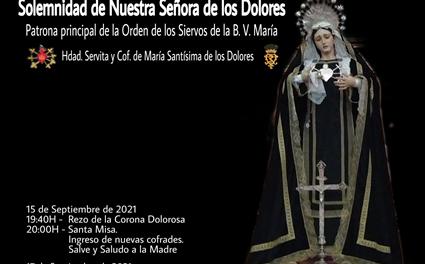 SOLEMNIDAD DE NUESTRA SEÑORA DE LOS DOLORES