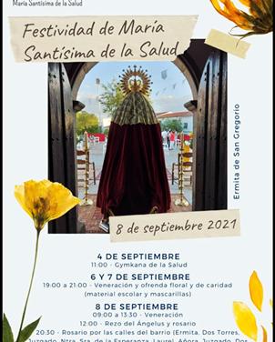 FESTIVIDAD DE MARÍA SANTÍSIMA DE LA SALUD