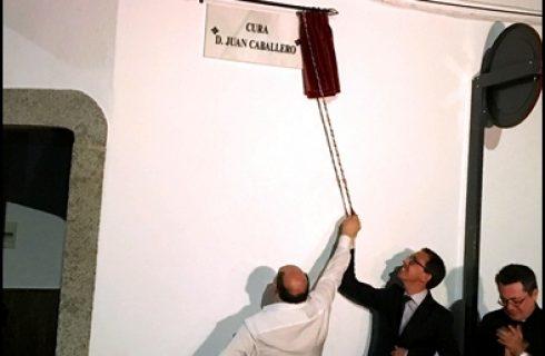 D. JUAN CABALLERO YA TIENE UNA CALLE CON SU NOMBRE