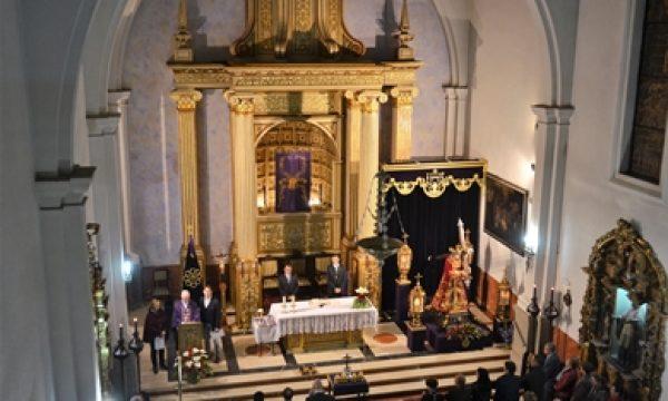CONCLUYERON LOS CULTOS CUARESMALES A JESÚS NAZARENO