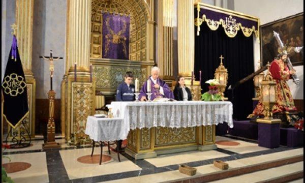 HOY CONCLUYE EL TRIDUO A JESÚS NAZARENO CON LA FIESTA DE REGLA