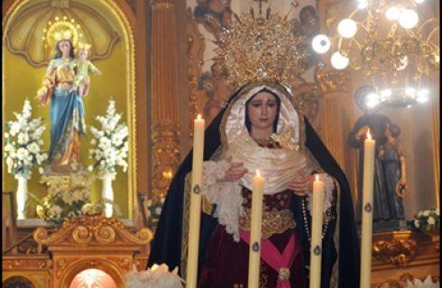 NUESTRA HERMANDAD ACOMPAÑARÁ AL CRISTO DEL PERDÓN Y NTRA. SRA. DE LA AMARGURA EN SU SALIDA EXTRAORDINARIA